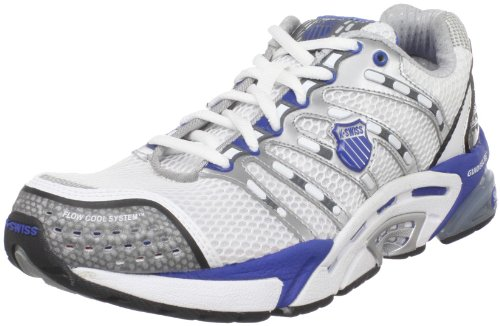 K-Swiss Men's Konesic White/Olympic Blue/Charcoal Trainer 02422-170-M 8.5 UK