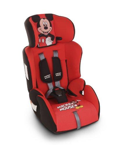 Piku mickey silla de coche grupos 1 2 3 9 36 kg 1 12 a os color rojo - Piku silla coche ...