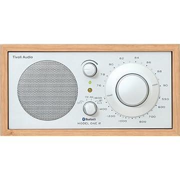 Tivoli Audio 高級ラジオ Model One BT チェリー/シルバー Bluetooth対応