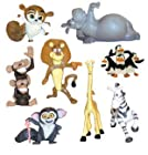 TINY Madagascar Escape 2 Africa Mini Figures - Set of Vending Machine Toys