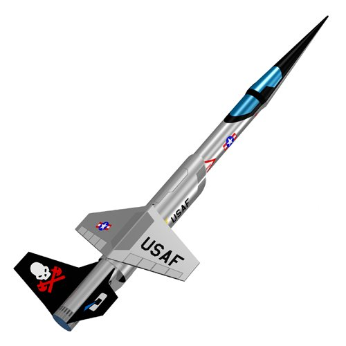 Quest Aerospace SHX Stilleto Model Rocket Kit
