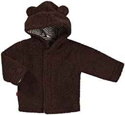 Magnificent Baby Unisex-Baby Infant Hooded Bear Jacket, Mocha, 0-6 Months