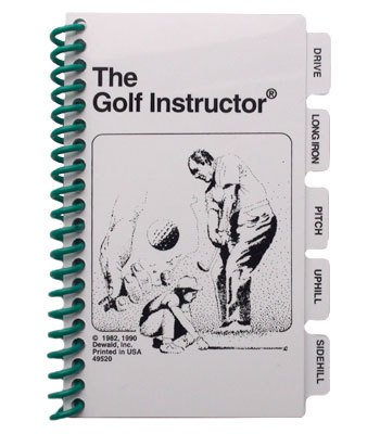 Golf Instructor Booklet - 1