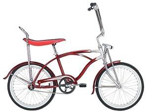 Micargi Hero 20 Boys Kids Low Rider Beach Cruiser Bicycle Red by Micargi