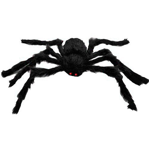 4.9ft Long Plush Spider