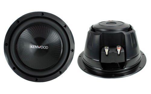 "2) Kenwood Kfc-W2513Ps 10"" 2000 Watt 4-Ohm Car Audio Subwoofers Subs Kfcw2513Ps"