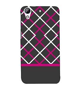 Laser Pattern Design 3D Hard Polycarbonate Designer Back Case Cover for HTC Desire 728G Dual Sim::HTC Desire 728G::HTC Desire 728