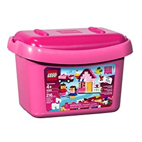 LEGO Pink Brick Box
