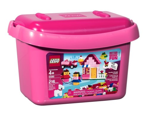 Cheap LEGO Pink Brick Box (5585) Best Buy | House Building Toys ...