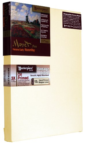 masterpiece-monet-pro-1-1-2-deep-11-x-14-inch-vintage-oil-primed-belgian-linen-canvas