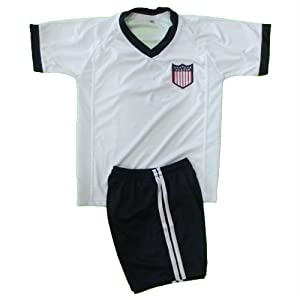 USA SOCCER KIDS SET JERSEY & SHORT SIZE 12.NEW