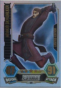 Force Attax Serie 3 LE1 ANAKIN SKYWALKER - LIMITED EDITION Individuale Trading Card