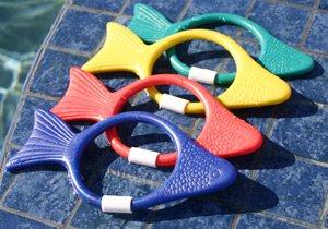 Sprint Aquatics Fish Dive Rings - Set of 4 - 1