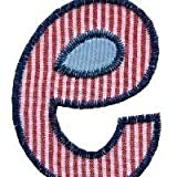 TrickyBoo e10 iron on fabric letter 8 10cm klein buchstaben 8 10cm geschenk ideen children patches ideas uk baby shower gifts patches fabric embroidery patch factory cloth patches baptism gifts toronto jeans patches boy baptism gift kids patches good chri