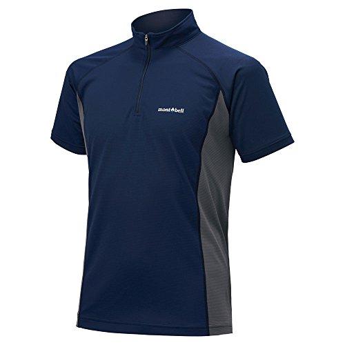 モンベルクール ハーフスリーブジップシャツ Men