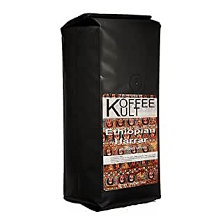 Koffee Kult Ethiopian Harrar Whole Bean Coffee