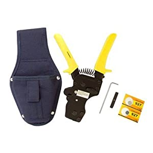 One-hand PEX Clamp Tool w/ Holster for St. Steel PEX Clamps