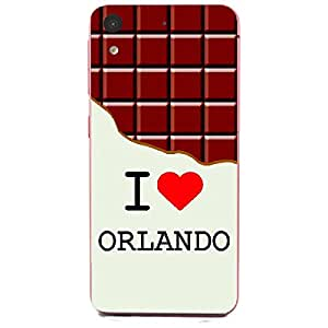 Skin4gadgets I love Orlando - Chocolate Pattern Phone Skin for HTC DESIRE 626