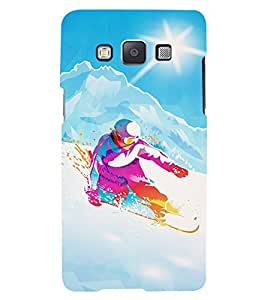 PRINTVISA Sports Snow Board Case Cover for Samsung Galaxy Grand Prime