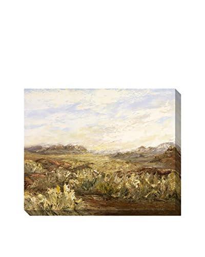 Lynette Jennings Desert Springtime Hand Embellished Giclee Print, Multi, 40″ x 50″