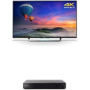 Sony XBR43X830C 43-Inch 4K Ultra HD TV with BDPS6500 Blu-ray Player