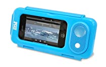 Pyle PWPS63BL Surf Sound Waterproof Portable Speaker Case for iPod, MP3 Player and Smartphone, Blue