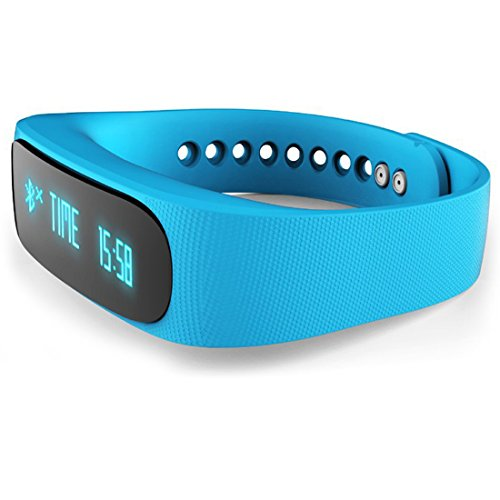 EFOSHM® Black Fitness SAFE E3 Smart Bracelet Watch Bluetooth Wireless Sedentary Sport Reminder Sleep Tracker Monitor Pedometer Remote Camera Vedio Control Waterproof IP57 Calls Sports Exercise Message Task Reminder Smartphone Easy Charging Anti-lost Alarm