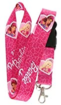 Barbie Lanyard Key Chain Holder