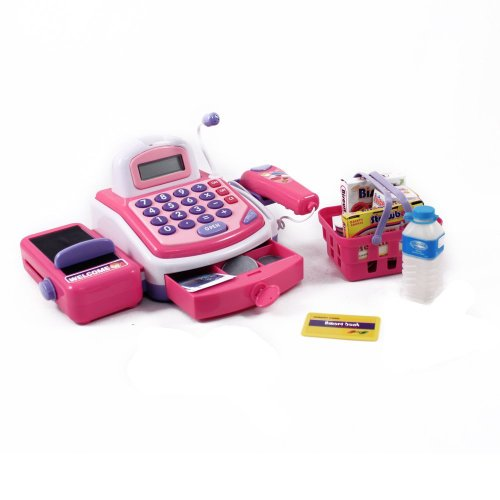Shopping Cash Register & Accessories Toy For Girls (Girls Toy Cash Register compare prices)