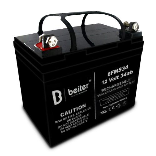 Beiter Dc Power Xtreme Battery Lawn And Garden Tractor John Deere Lawn Mower Riding Mower And Tractor Batteries - Replaces: 1048162, 2500474, 27641, 7251704A, 7251706, 7251706A, 7251707D, 7251737, 7251737A, 7251750A, 8229, 8C3636, 9251707D, 9U1L1Nl, Batu1