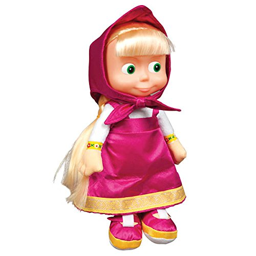 Masha, russian Talking Toy! New!!!Popular cartoon character Mash and the Bear by Multi-Pulti (Russian Bear Toy compare prices)