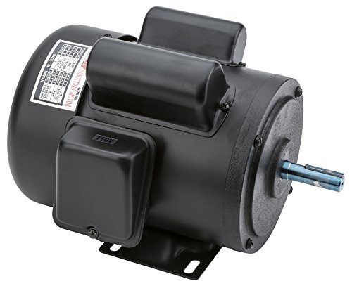Grizzly G2532 Single-Phase Motor, 1 HP (Single Phase Motor compare prices)
