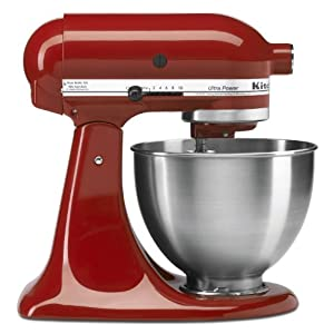 kitchenaid ksm95er ultra power stand mixer empire red