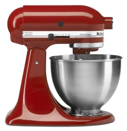 Kitchenaid 4-1/2-Quart Ultra Power Stand Mixer, Empire Red front-259916