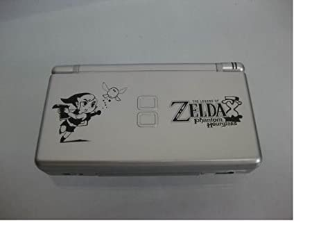 Nintendo DS Lite Silver with Legend of Zelda: Phantom Hourglass