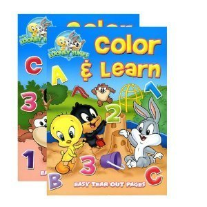 Baby Looney Tunes Coloring and Activity Book (2 Pack)