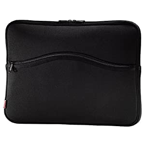 """Hama Notebook-Cover """"Comfort"""" 40 cm (15,6 Zoll) Schwarz"""