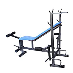 Gym Fit Weight Lifting 8 In 1 Bench For Home Gym Exercise