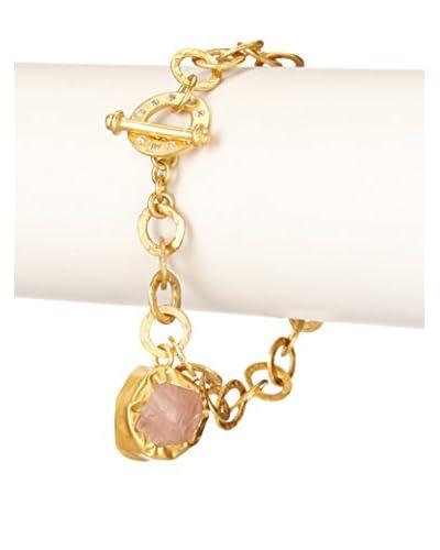 Zariin Gorgeous Rose Quartz Bracelet