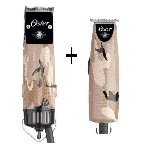 Clipper Camo+T-Finisher Operation Home Front Limited Edition Trimmer