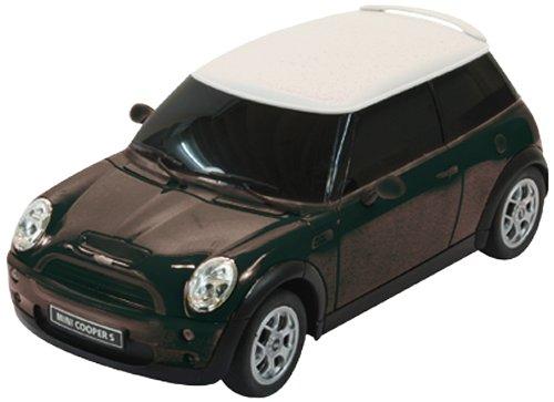 Jamara 403882 - RC Mini Cooper S 1:58 inklusive Fernsteuerung, schwarz