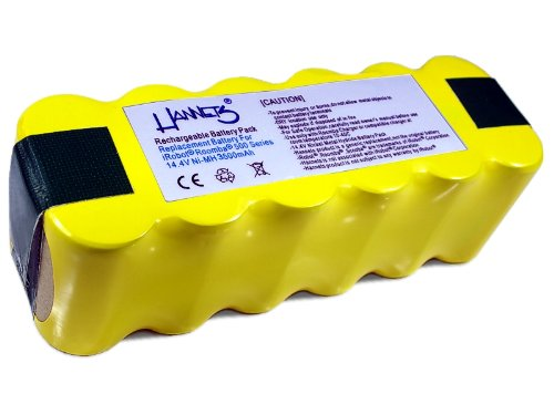 Hannets® Batterie APS pour iRobot Roomba 500, 600, 700, 800 et 900 série