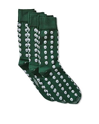 Corgi Men's Combed Socks 3-Pack, Multi, One Size