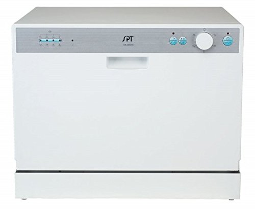 Countertop Dishwasher Price Check : Discount SPT SD-2202W Countertop Dishwasher with Delay Start, White