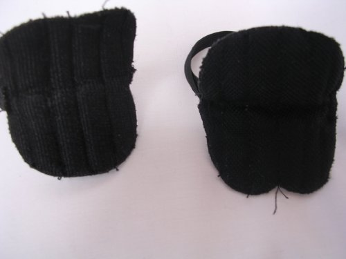 "Plush Toy Clothing ; Sports Hockey Soccer Knee Pads ; Fits 15"" Doll - 1"