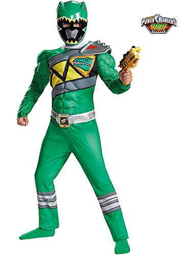 Green Ranger Dino Charge Classic Muscle Costume for Kids