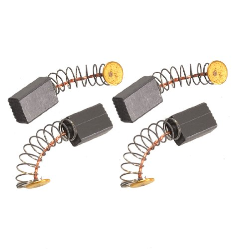 Uxcell 4 pcs sewing machine carbon motor brushes 1 2 x 5 for Dc motor brushes function