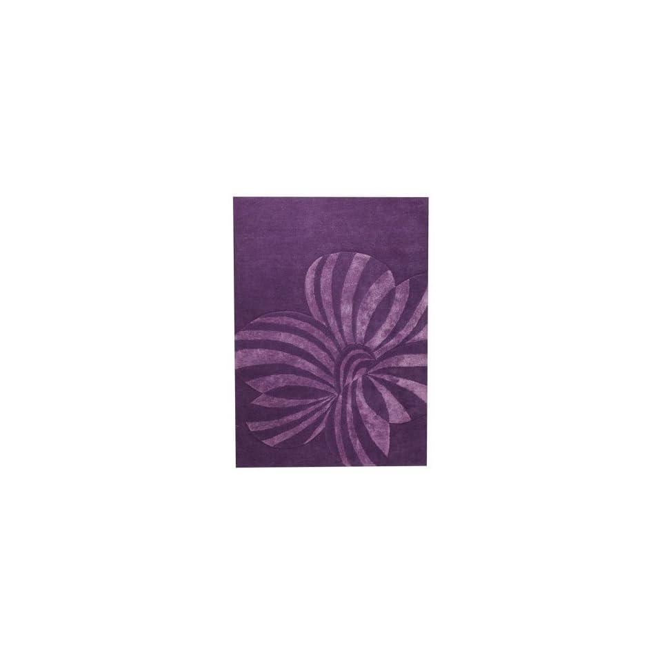 MAT The Basics Jasmine Violet 8 3 x 11 6 Area Rug
