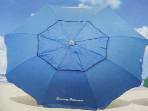 Tommy Bahama Beach Umbrella (Light Blue, 7 ft - UPF50)