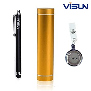 2600mAh Portable Orange External Power Bank Battery Charger for iPhone 5 4S 4 3GS i9300 (Champagne)